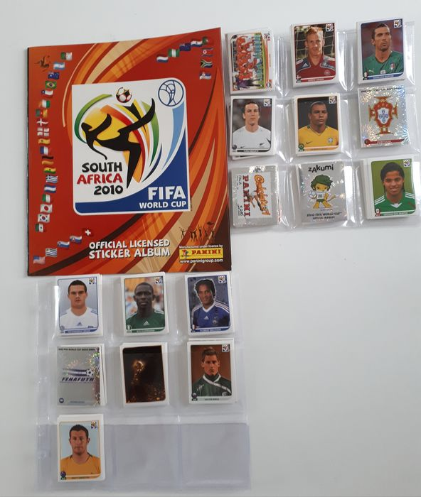Panini - Leeg album + complete losse stickerset World Cup 2010 South Africa