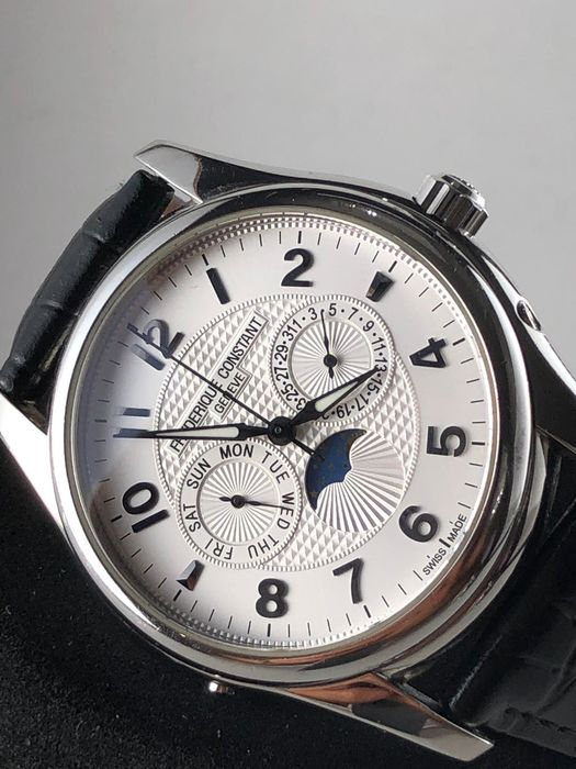 frederique constant - Runabout Moonphase Limited edition - FC360XR6B4/6 - Herren - 2011-heute