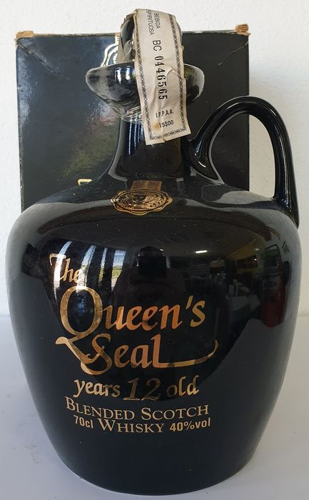 The Queen's Seal 12 years old - b. 1980/90s - 0.7 Ltr