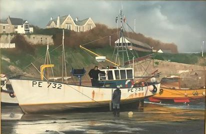Vincent Basham - Newquay harbour