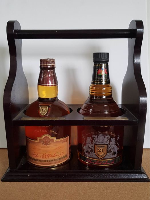 Bell's 12 years old & Royal Reserve 21 years old - b. 1980s - 75cl - 2 bottles