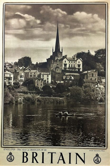 Anonymous - Britain ( River Ross on Wye ) - 1935