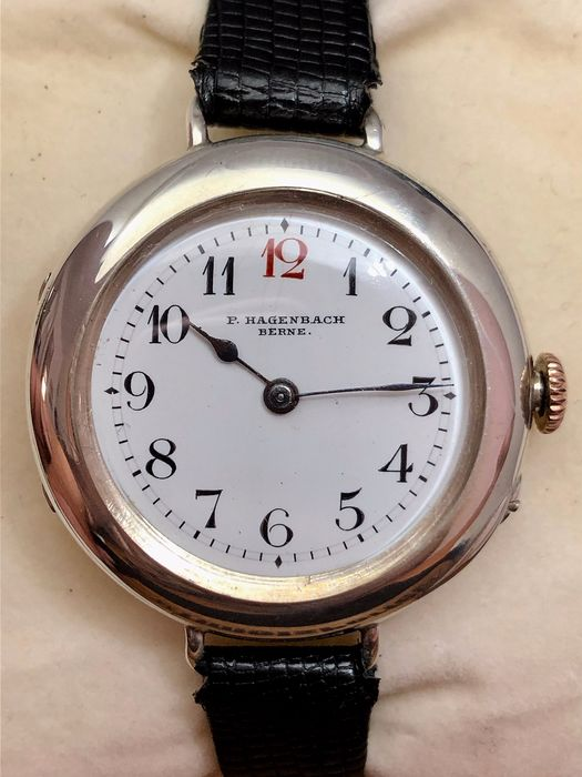 P. Hagenbach - Longines Signed Interior and Movement from 1902!!! - 2176031 - Homme - 1901-1949