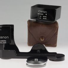 Canon  CAMERA HOLDER & Sonnenblende