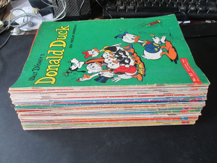 Donald Duck 1 t/ 52 - Donald Duck 1969 - Softcover - First edition - (1969)