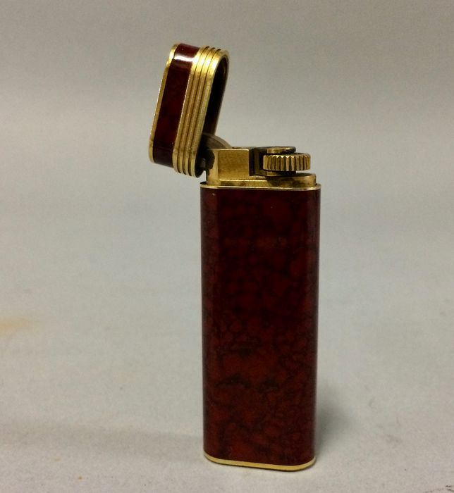 1 x Dupont en 3 x Cartier - Lighter - 4 - Catawiki