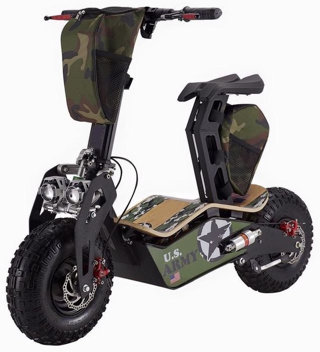 Velocifero - ARMY - E-Scooter - Street Legal - designed by Allesandro Tartarini - 2019