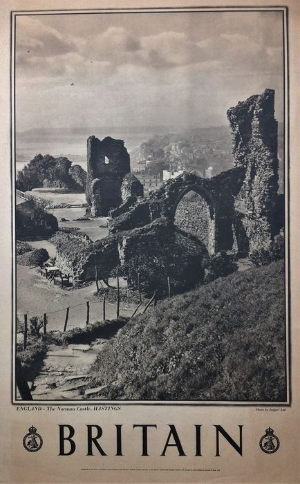 Anonymous - Britain, Norman Castle Hastings - 1935