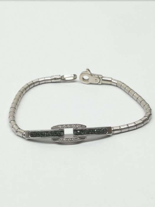 zancan - 18 kt. White gold - Bracelet - 1.00 ct Diamond - Diamonds