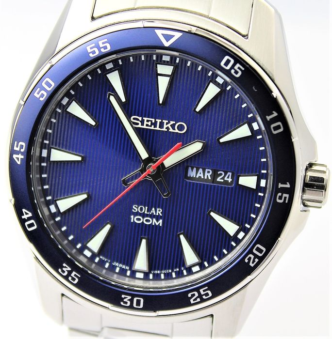 "Seiko - ""NO RESERVE PRICE""  Solar Powered - New & Boxed - Herren - 2011-heute"