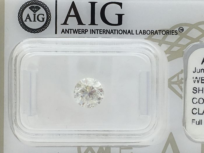 Diamond - 1.00 ct - Brilliant, Round - I - I1