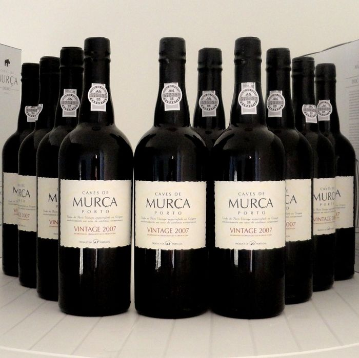 2007 Caves de Murça  Vintage Port - 6 Flasker  (0,75 l)