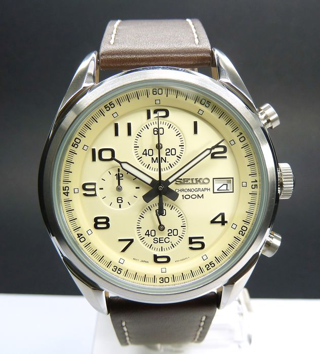 Seiko - Chrono Pelle Quarz - ssb273p1 - Men - 2019