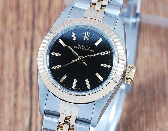 Rolex - Oyster Perpetual - 67193 - Dames - 1980-1989