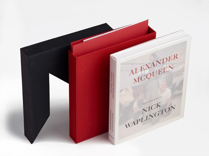 Signed; Nick Waplington  - Alexander McQueen Working Process [With signed limited edition print] - 2014