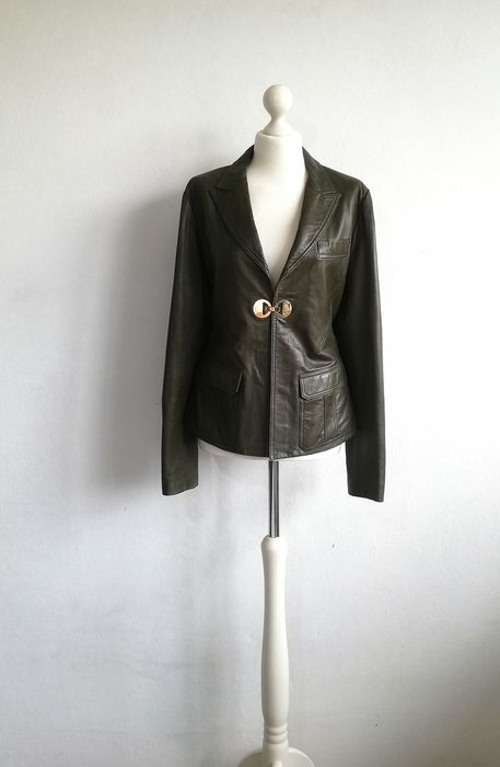 935f319d6 Versace Collection - Jacket, Leather jacket - Catawiki