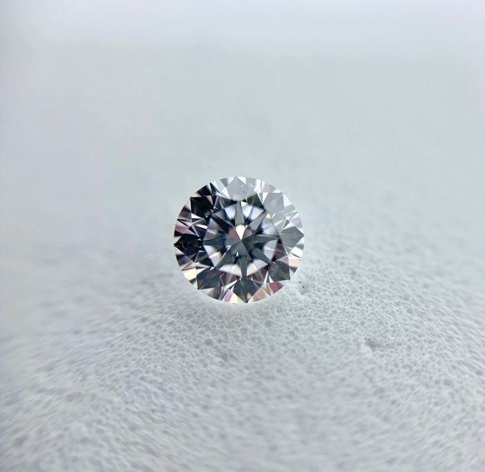 1 pcs Diamond - 0.50 ct - Brilliant - E - IF (flawless), LC (loupe clean)