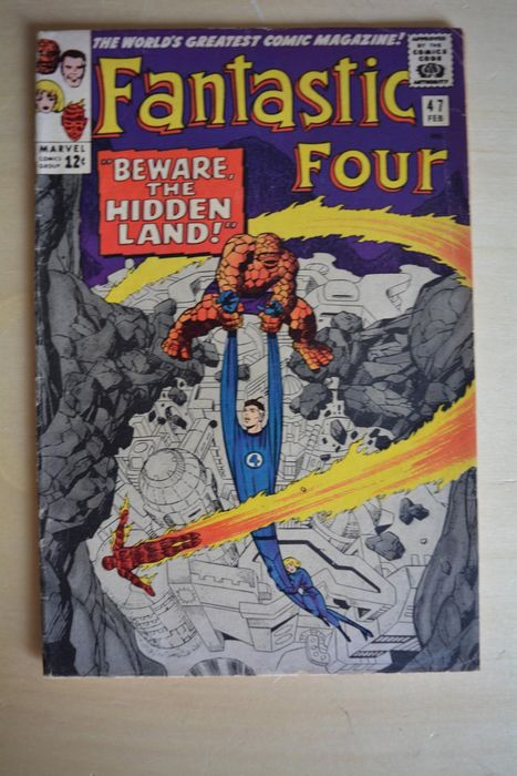 Fantastic Four #47 - Beware the Hidden Land! - Brossura - Prima edizione - (1965)