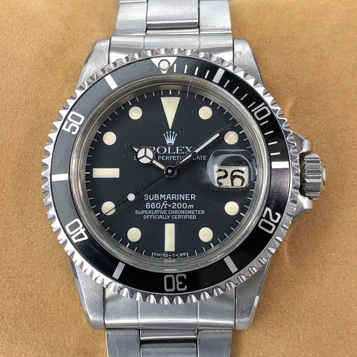 Rolex - Submariner Date Maxi Dial - 1680 - Men - 1970-1979