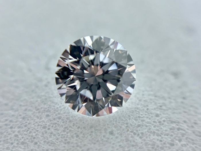 1 pcs Diamond - 0.50 ct - Brilliant - D (colourless) - IF (flawless), LC (loupe clean)