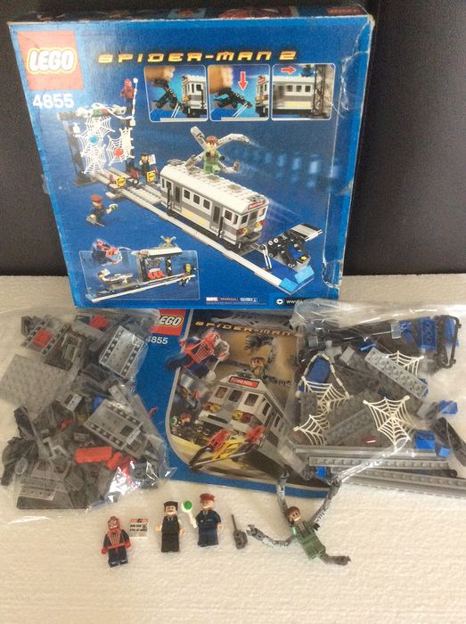 LEGO - Spider-Man TM - 4855 - Spider-man's train rescue - 1990-1999 - Denmark