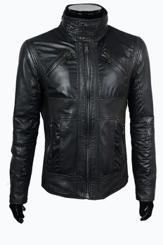 e70320cedfb363 D&G - Dolce & Gabbana - Lamb Leather Crafted Jacket - Maat: IT 52 Size