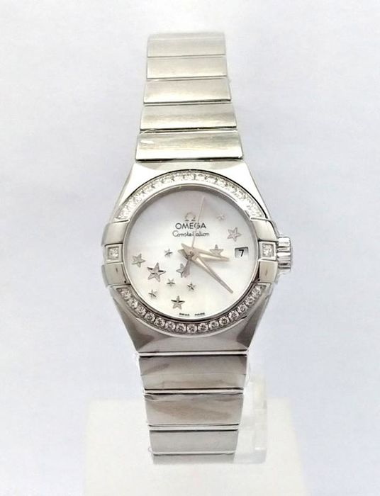 Omega - Constellation Co Axial 27mm - 123.15.27.20.05.001 - Dames - 2011-heden