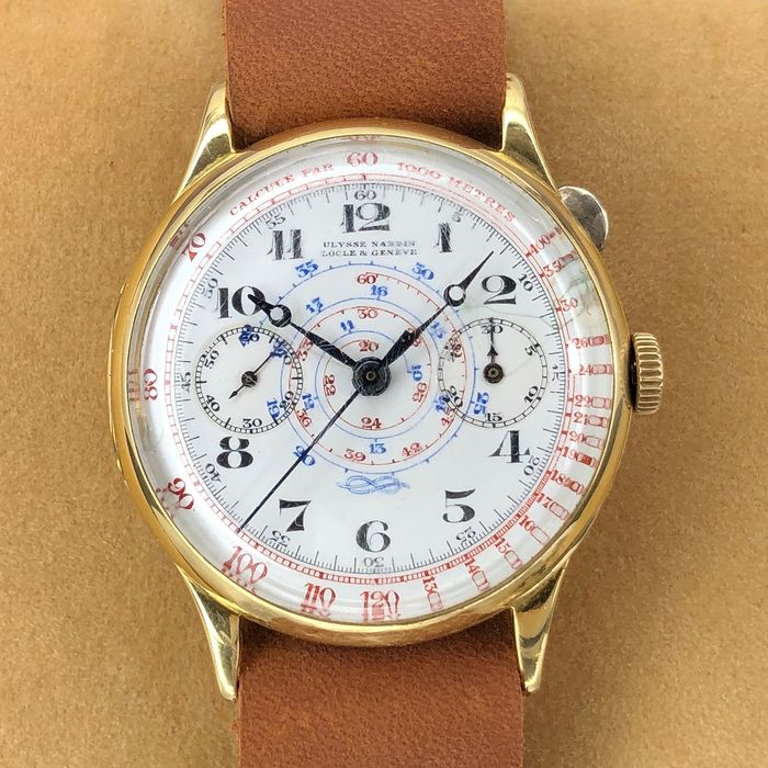 Ulysse Nardin - Locle & Geneve Vintage Mono-Pusher Medical Chronograph - Unisex - 1901 - 1949