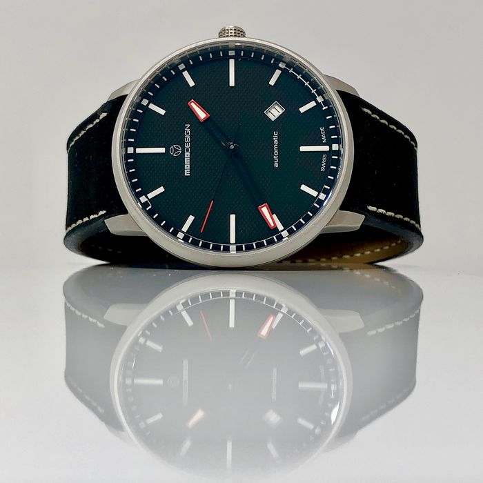 """MomoDesign - Automatic Watch Essenziale Black SS Swiss Made - MD6004SS-12 """"NO RESERVE PRICE"""" - Heren - Brand New"""