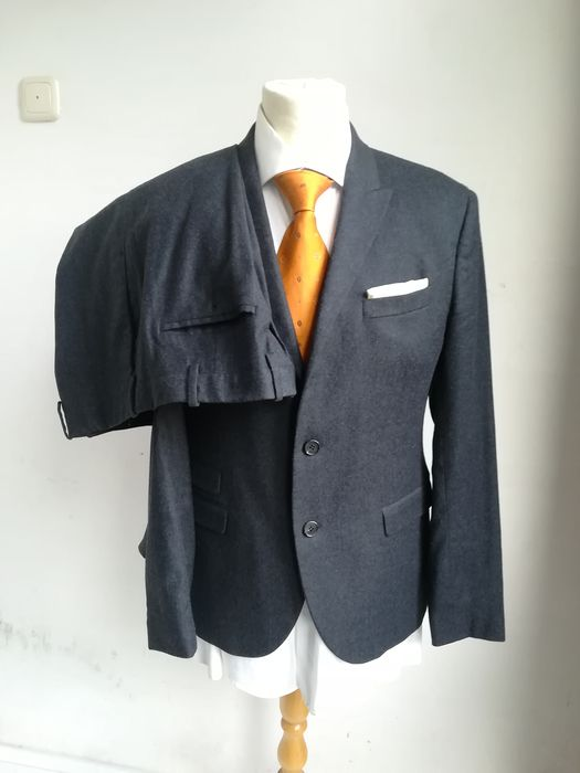 Neil Barrett - Suit, Semi Constructed - Size: 50 Slim Fit, zie afmetingen M