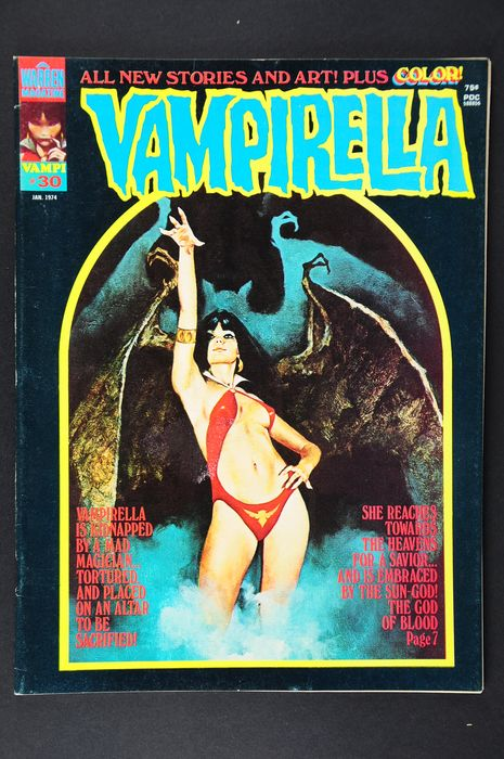 Vampirella (Vol.1 1969) - #30/39. Very High Grade!!!  - 1st Edition
