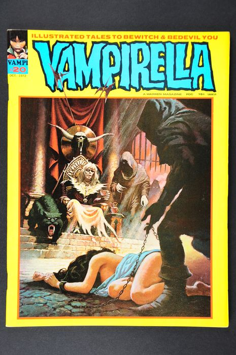 Vampirella (Vol.1 1969) - #20/29. Very High Grade!!!  - 1st Edition