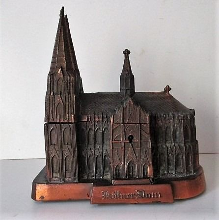 Jewellery box Cologne Cathedral - Metal alloy