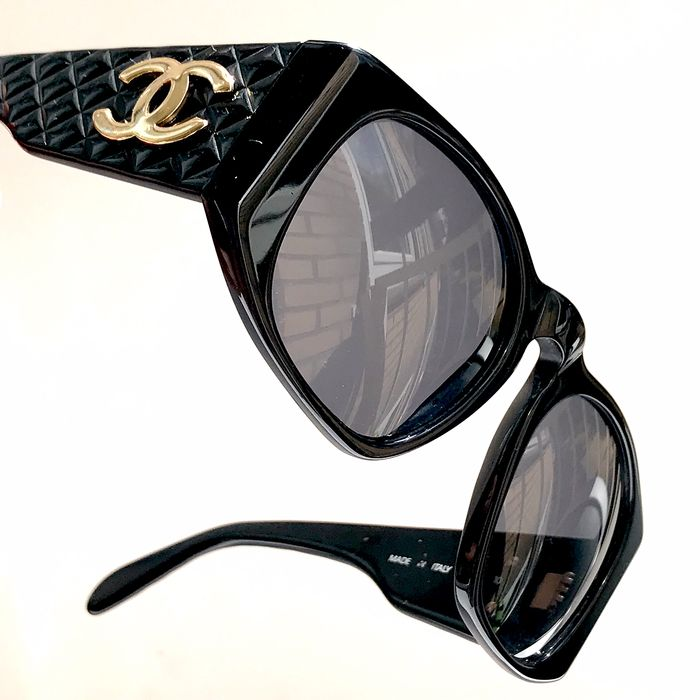 Chanel - Quilted Sunglasses