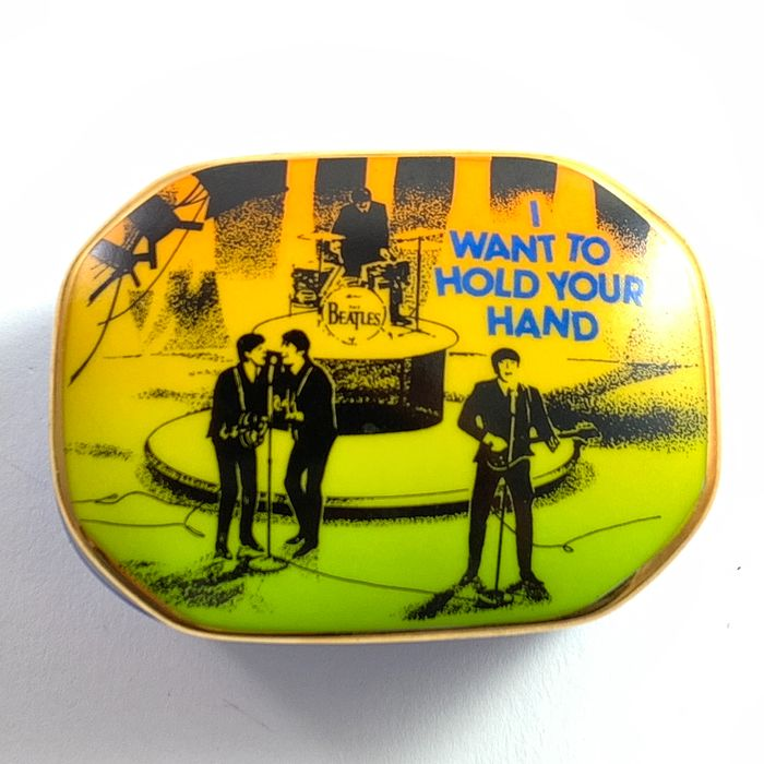 Franklin Mint - Collectors Music Box The Beatles - I Want To Hold Your Hand - With Gold Plated Accents