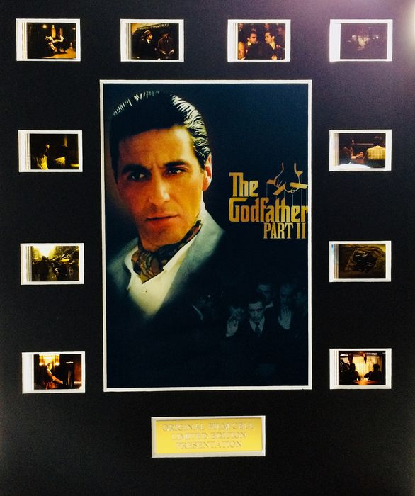 The Godfather - Part II - Limited Edition Film Used Cell Display - with Certificate Of Authenticity