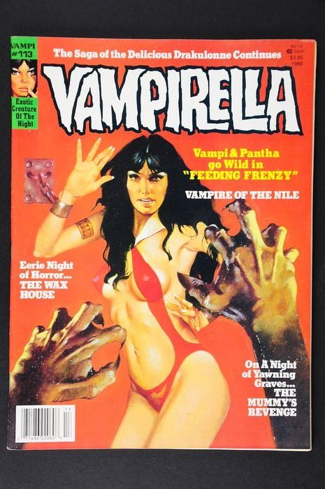 Vampirella (Vol.1 1969) #113 - Very High Grade!!! Extremely Rare!!! Last Issue - 1st Edition