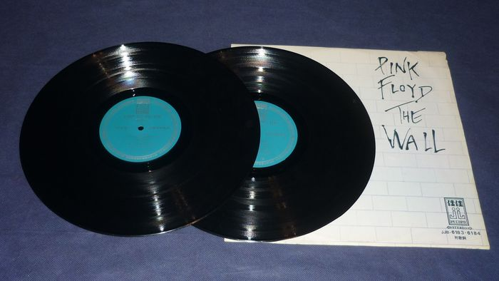 Pink Floyd - The Wall - Megarare Taiwan Press - No Gatefold - Completely Different Label - 2xLP Album (double album) - 1980