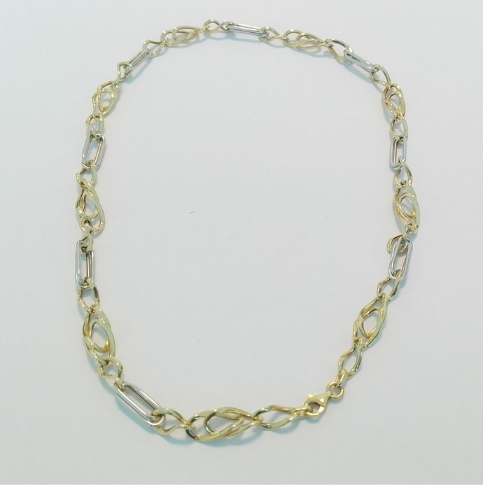 18 kt. White gold, Yellow gold - Necklace