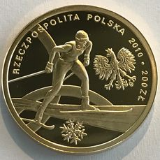 Poland - 200 Zloty 2010 - Olympische Winterspiele in Vancouver - Gold