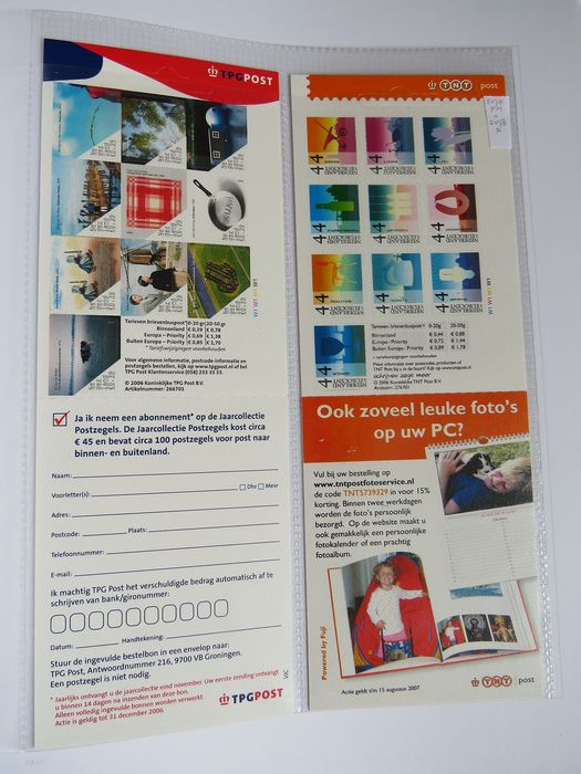 Netherlands 1964/2006 - Collection of stamp booklets in DAVO album