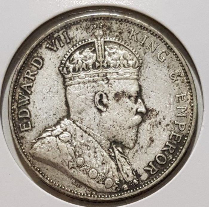 Hongkong - 50 Cents - 1905 King Edward VII