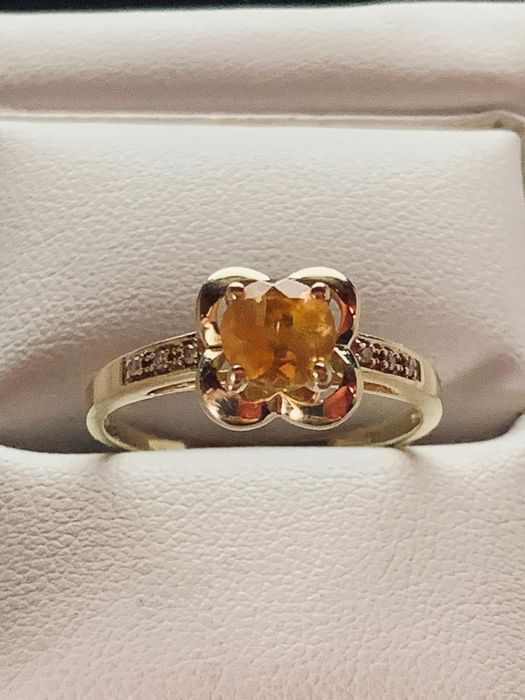 MAUBOUSSIN - 18 kt. Yellow gold - Ring - 1.00 ct Citrine