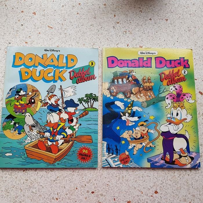 Donald Duck dubbelalbums - 1 t/m 19 - Softcover - First edition - (2002/2014)