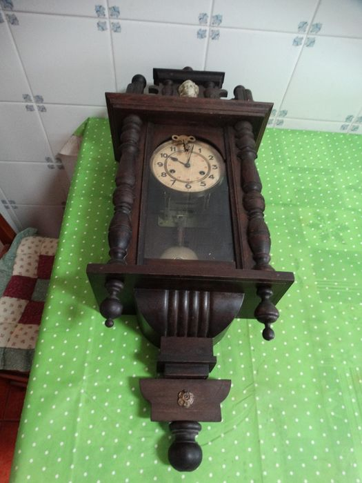 clock cope rope watch - Wood - Early 20th century