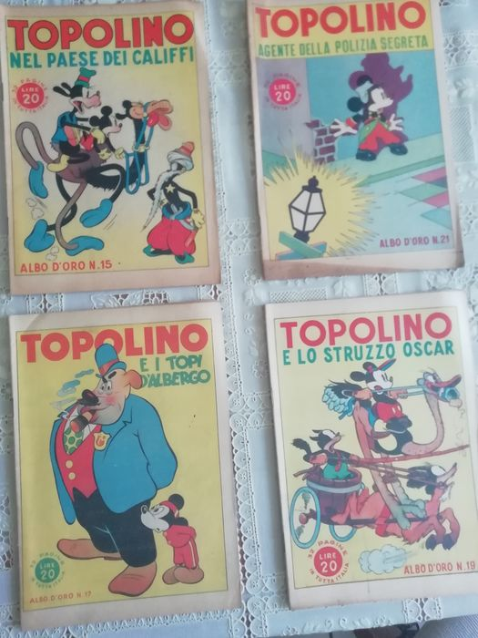 Topolino - 33 Albi D'Oro - Stapled - First edition - (1946/1947)