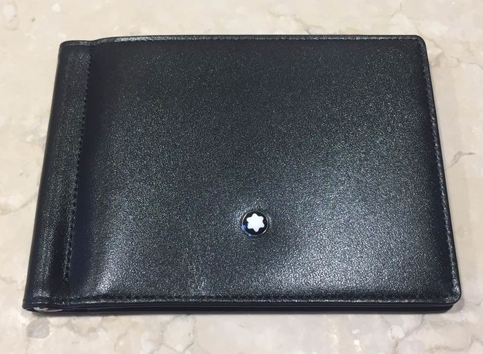 Montblanc - wallet 6cc w money clip unpacked Wallet