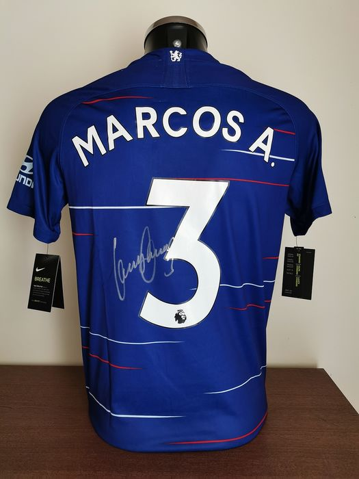 the latest fd443 b2a56 Chelsea Fc - Britisch League - Marcos Alonso - 2018 - Jersey ...
