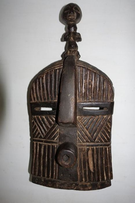 Mask - Wood - Luba Songye - Congo