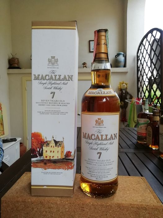 Macallan 7 years old - b. 1990s - 70cl